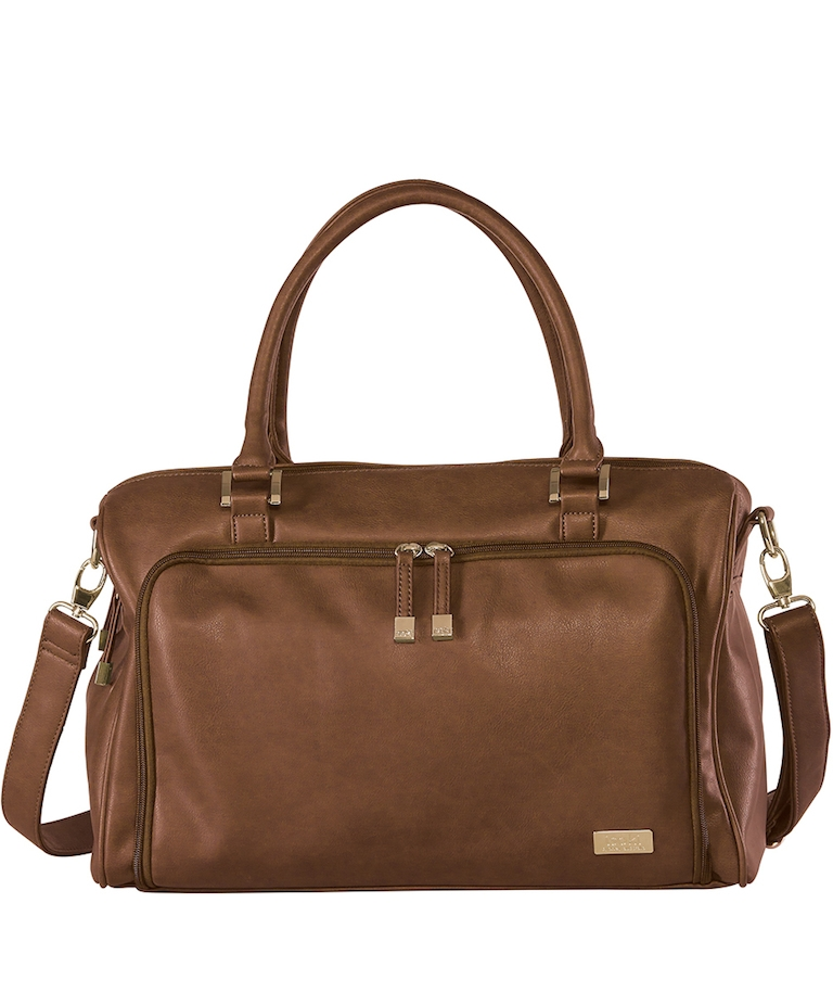 Isoki Redwood Double Zip Satchel