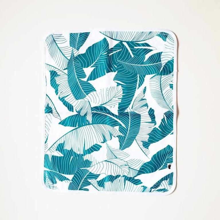 Bondi Beach Baby Change Mat Palm