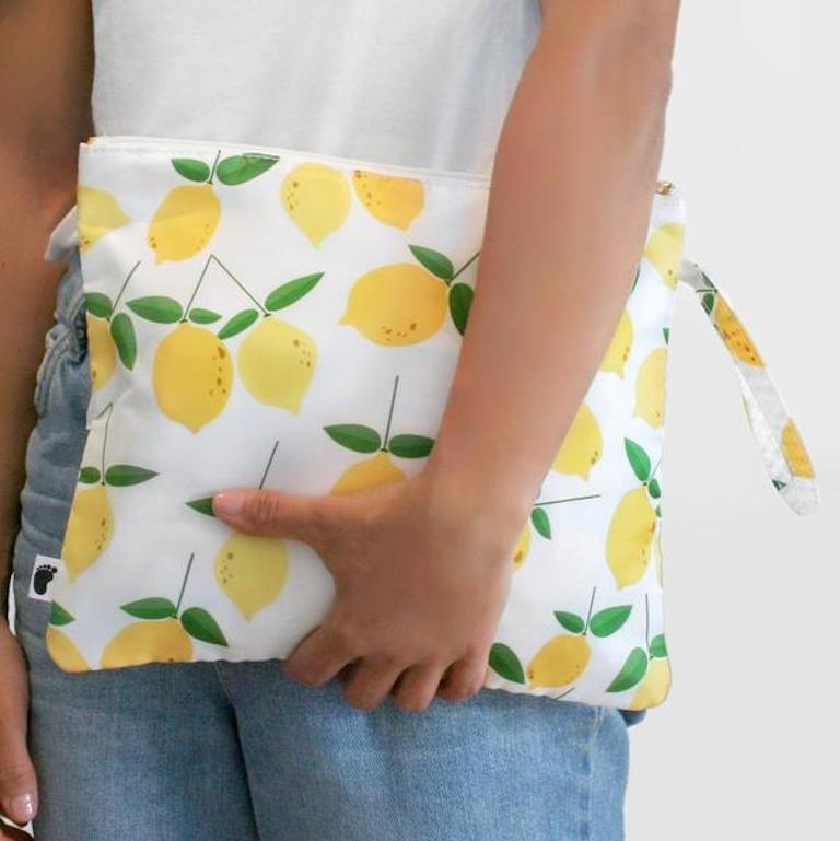 Bondi Beach Baby Nappy Clutch Lemonade