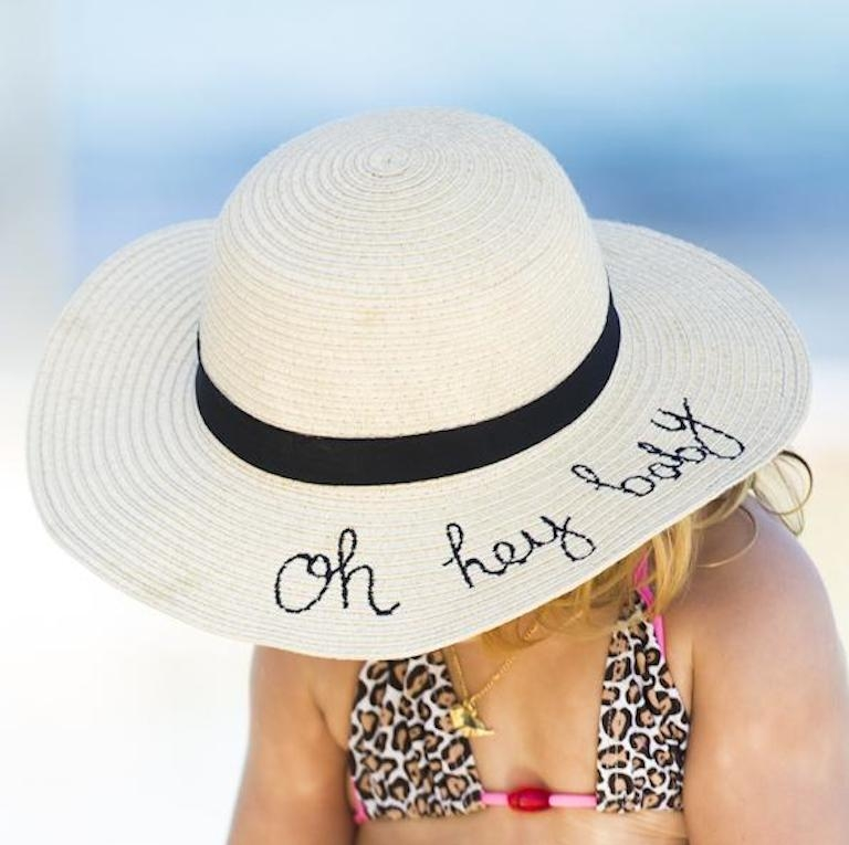 "Bondi Beach Baby ""Oh Hey Baby' Hat"