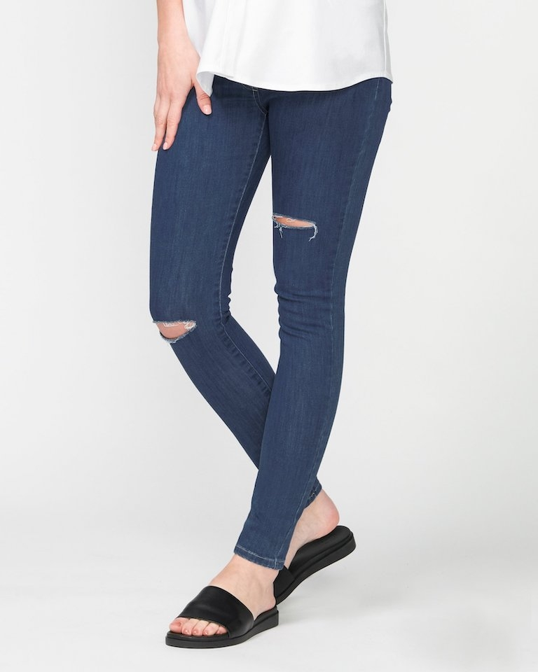 Pea in a Pod Margot Distressed Jeans