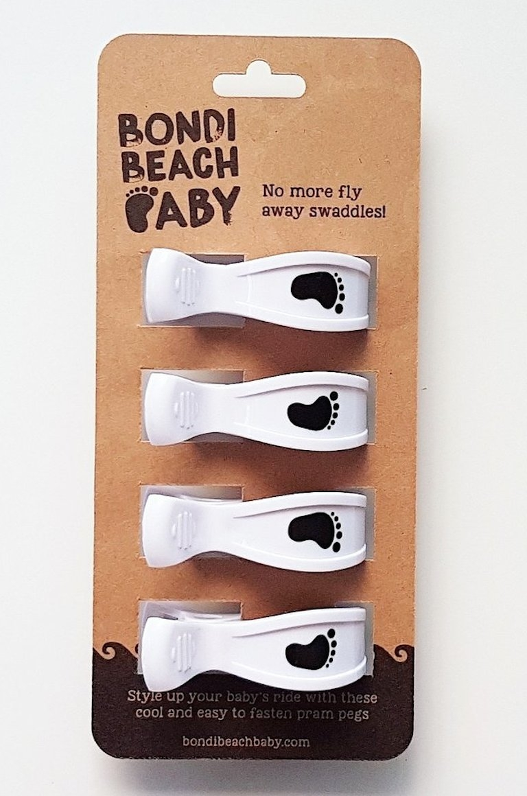 Bondi Beach Baby Milk Pram Clips