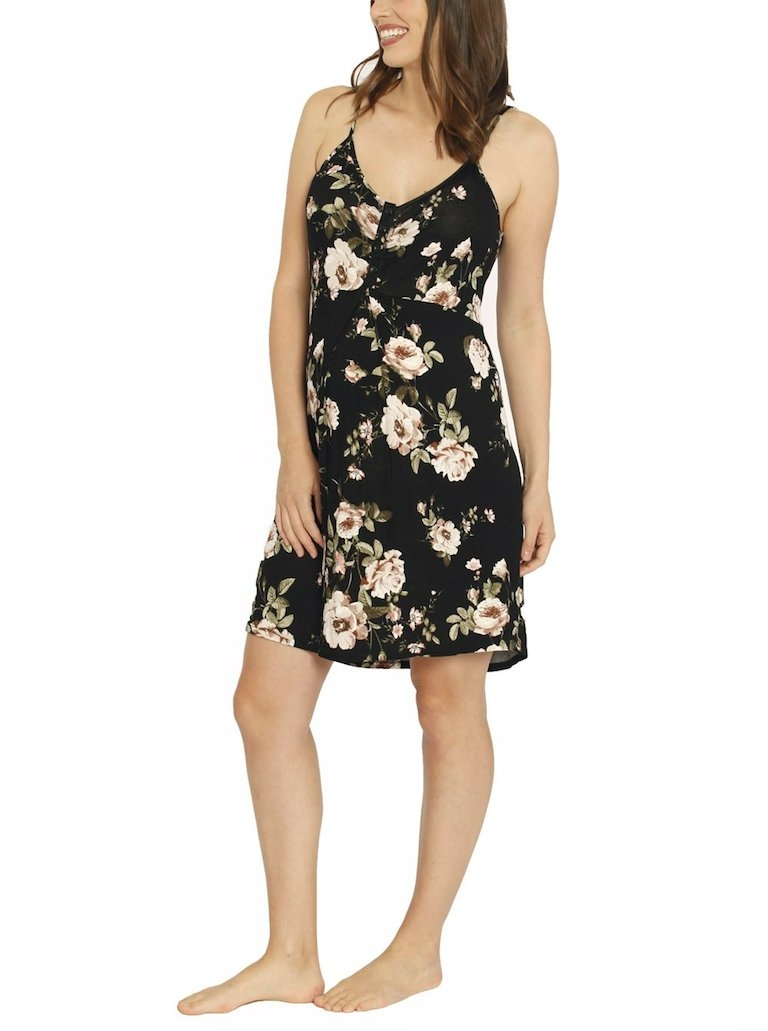 Ruby Joy Floral Feeding Nightie