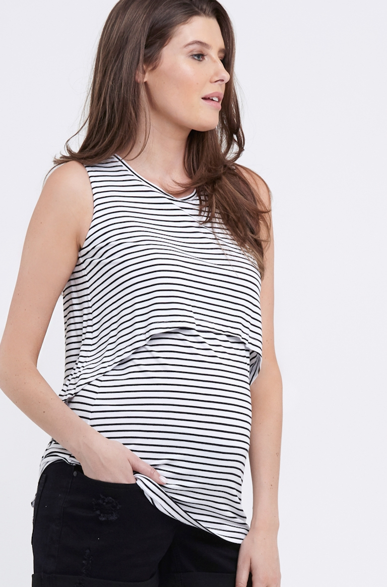 Ripe Stripe Swing Back Feeding Tank