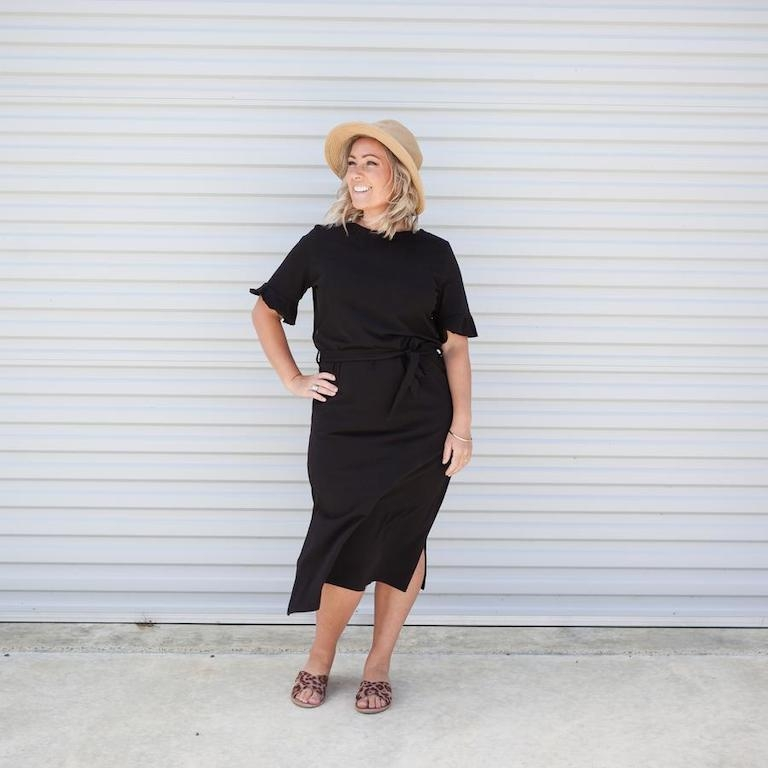 Milkbar Zaria Black Feeding Dress