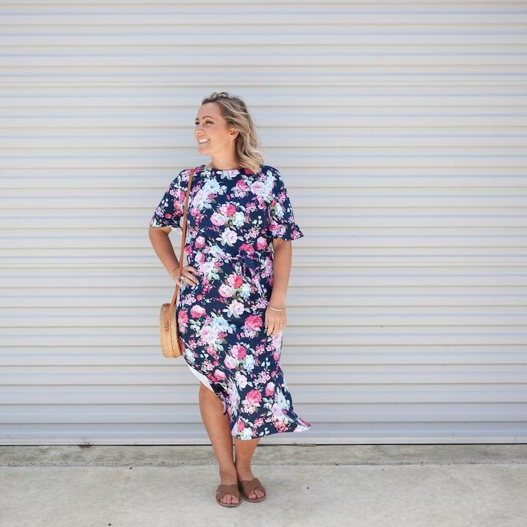 Milkbar Zaria Floral Feeding Dress