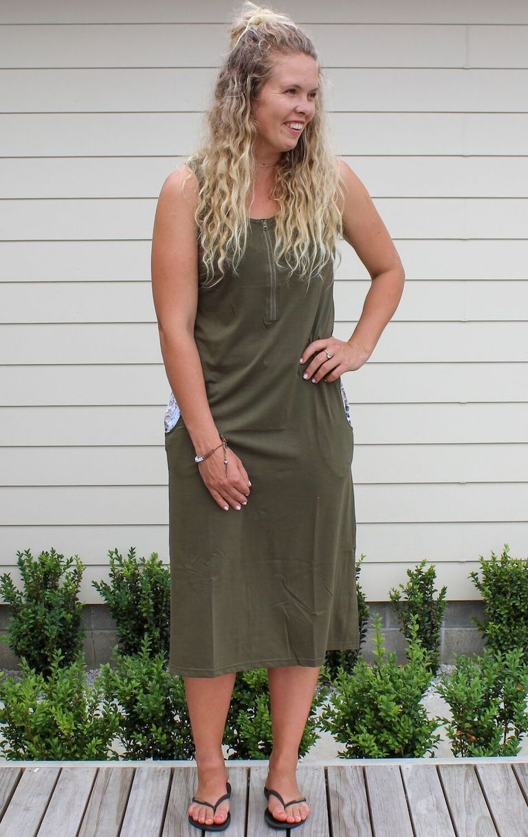 Milkbar Olive Dulcet Feeding Dress