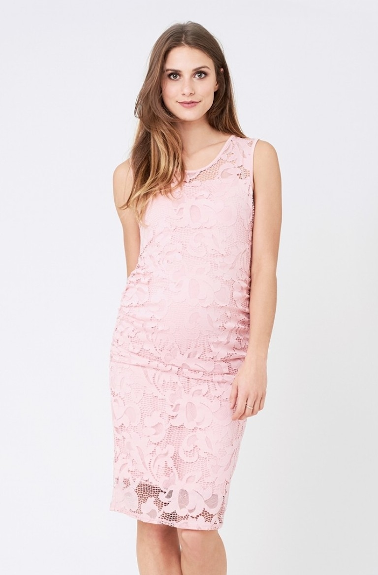 Ripe Pink Eden Lace Dress