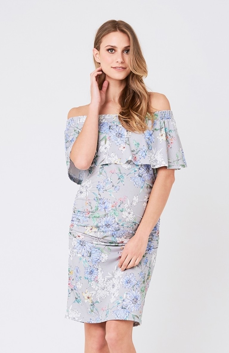 Ripe Holly Off Shoulder Dress