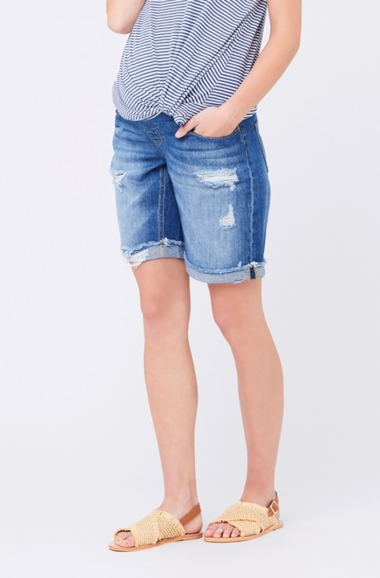 Ripe Bermuda Denim Shorts