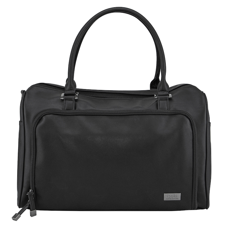 Isoki Onyx Double Zip Satchel
