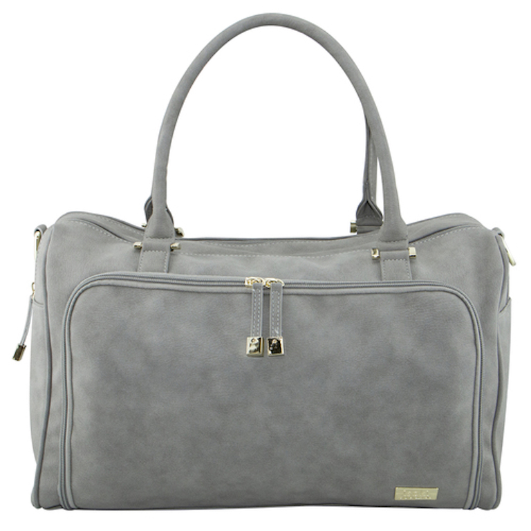Isoki Stone Double Zip Satchel