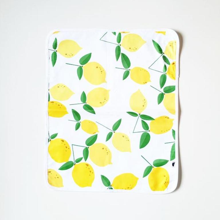 Bondi Beach Baby Change Mat Lemonade