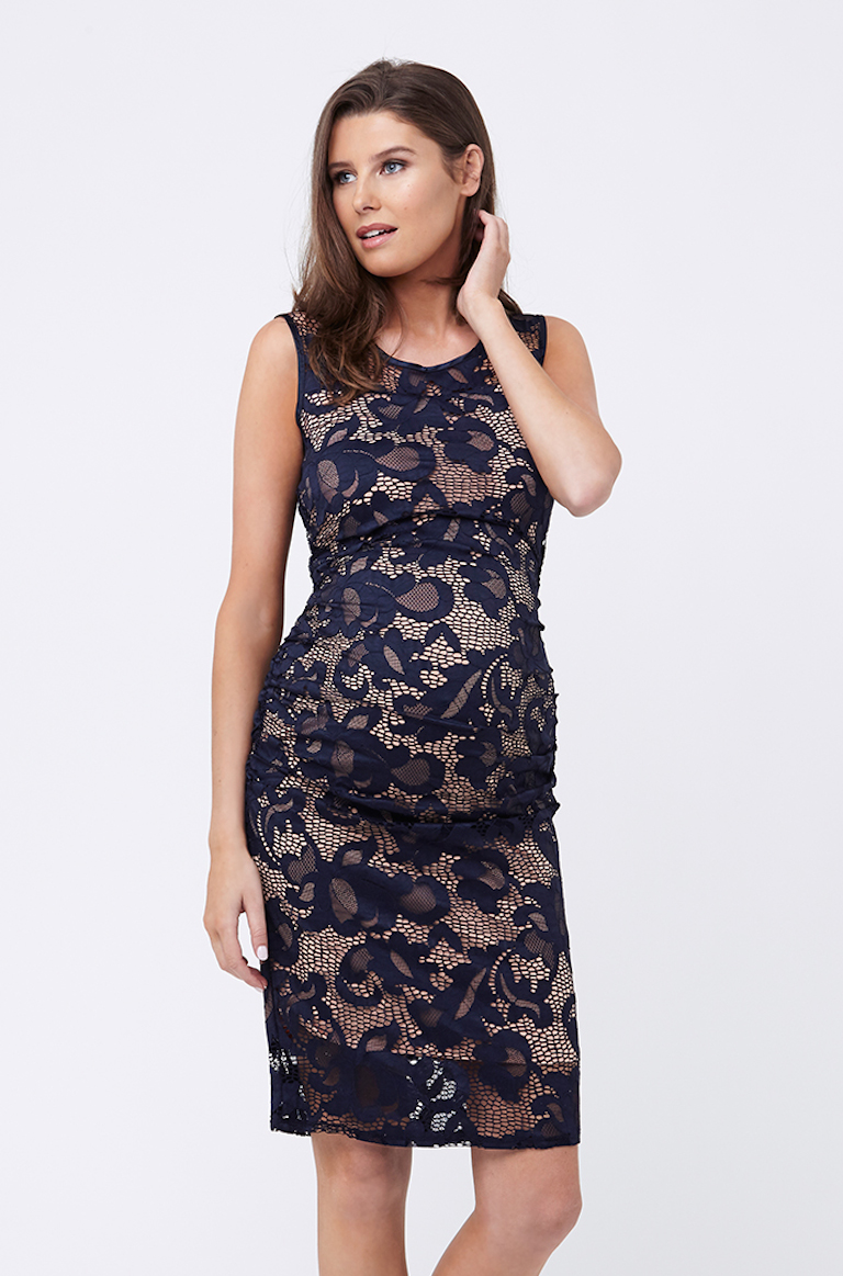 Ripe Navy Eden Lace Dress