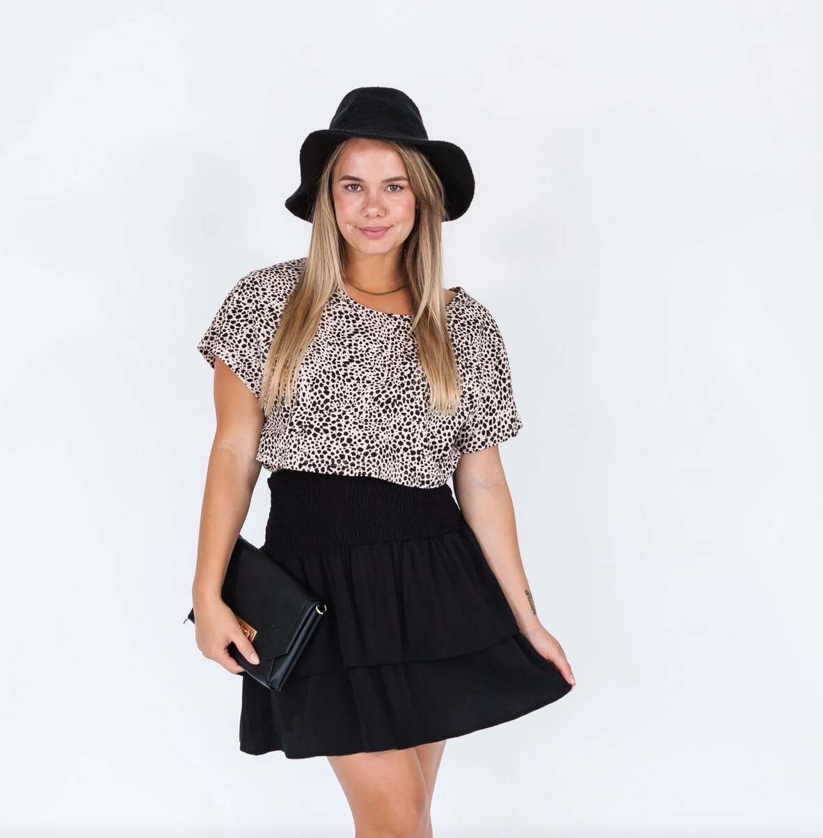 Milkbar Black Ellie Skirt