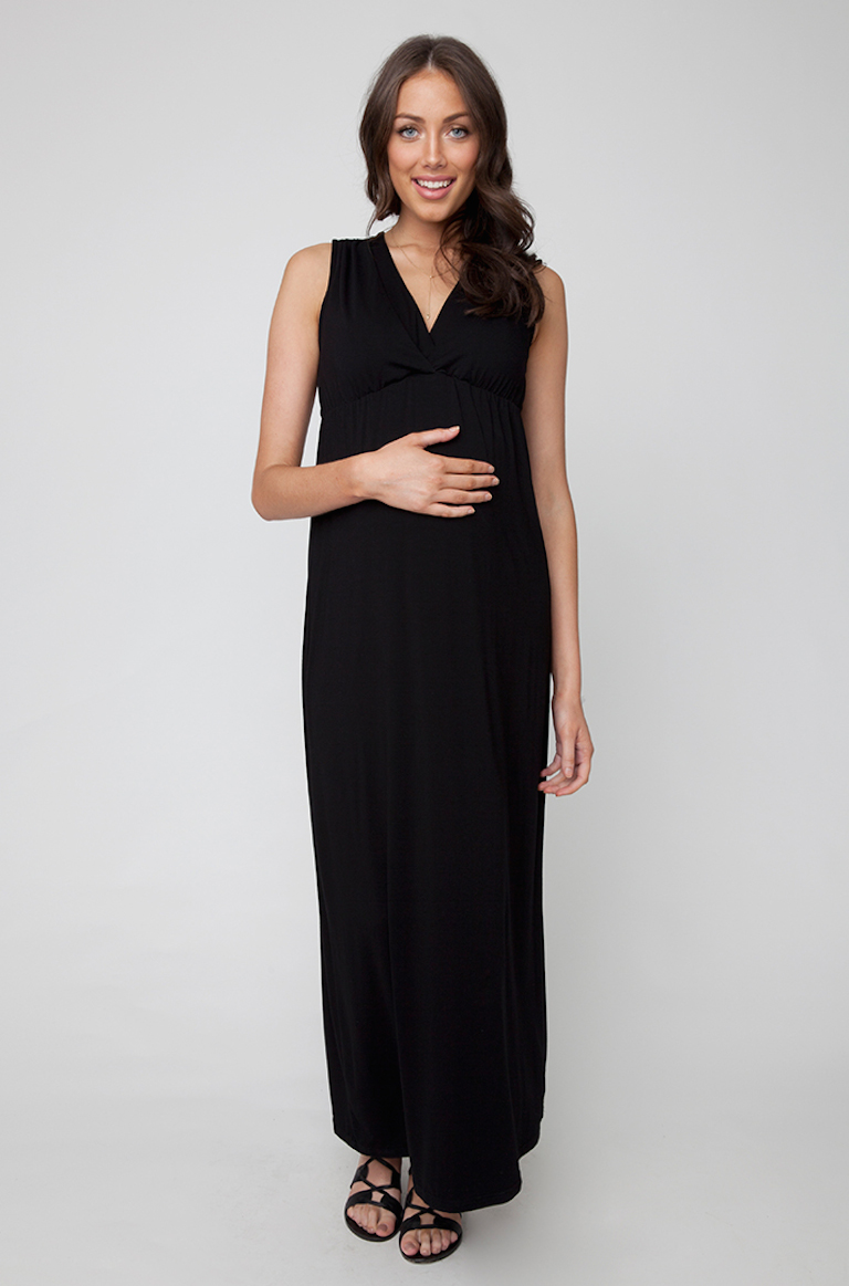 Ripe Virtue Nursing Maxi Dress