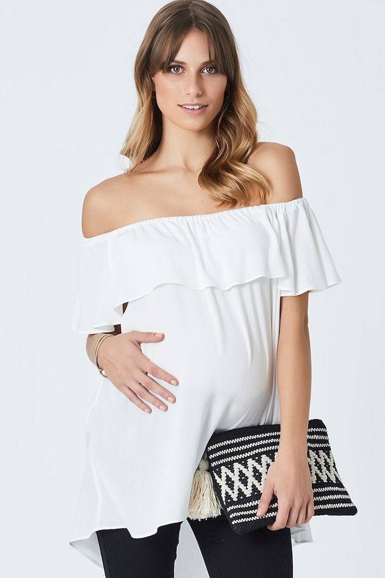 Pea in a Pod Arielle Frill Top