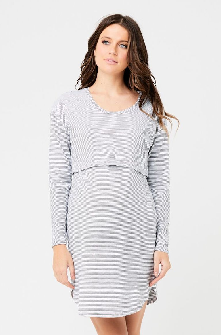 Ripe Long Sleeve Nursing Nightie